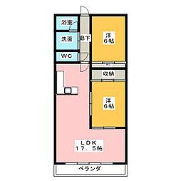 hau'oli[2階]の間取り