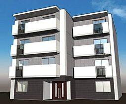 北海道札幌市東区北三十四条東14丁目の賃貸マンションの外観