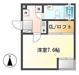 コンフォート泉[1階]の間取り