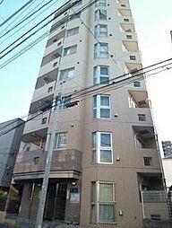 東京都新宿区原町1丁目の賃貸マンションの外観