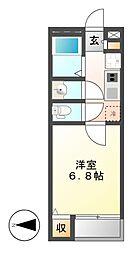 クレイノKimataIII[1階]の間取り