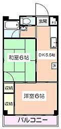 東京都板橋区高島平7丁目の賃貸マンションの間取り