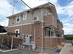 岡山県倉敷市北畝2の賃貸アパートの外観