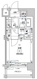 Le'a横濱コアフォート[9階]の間取り