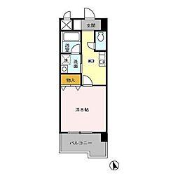 プレミール[5階]の間取り