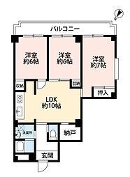 ドリーム1号館[2階]の間取り