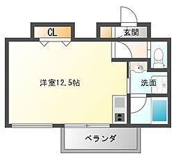 AXIS平尾2番館[9階]の間取り