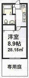 兵庫県神戸市垂水区海岸通1丁目の賃貸アパートの間取り