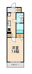 エルスタンザ浅草[6階]の間取り