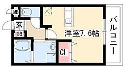 愛知県名古屋市天白区表山3丁目の賃貸マンションの間取り