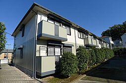 千葉県柏市増尾台1の賃貸アパートの外観