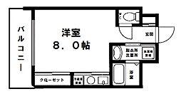 ヴェローノ新大阪北[5階]の間取り