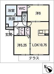 仮)D-ROOM半田市大高町 A棟[1階]の間取り
