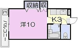 マンションほうれん草[202号室]の間取り