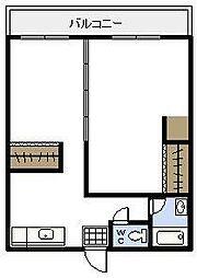 NAGOMI II[106号室]の間取り