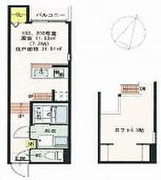 NEXSTAGE姫島[103号室]の間取り