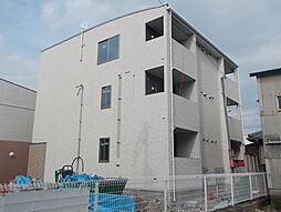 兵庫県姫路市三条町一丁目の賃貸アパートの外観