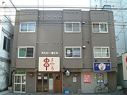 北海道札幌市中央区南6条西13丁目の賃貸アパートの外観