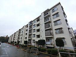 千葉県富里市日吉台4丁目の賃貸マンションの外観