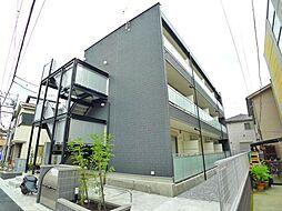 東京都葛飾区東四つ木4丁目の賃貸マンションの外観