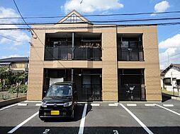 埼玉県行田市桜町2丁目の賃貸アパートの外観