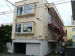 北海道札幌市豊平区中の島一条3丁目の賃貸アパートの外観