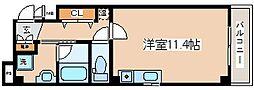 兵庫県神戸市中央区元町通4丁目の賃貸マンションの間取り