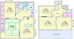 JR仙山線 東照宮駅 徒歩8分の賃貸アパート 1階4SLKの間取り