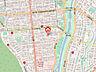 地図,2LDK,面積48m2,賃料4.8万円,札幌市電2系統 東屯田通駅 徒歩4分,バス じょうてつバス南21条西11丁目下車 徒歩7分,北海道札幌市中央区南二十三条西8丁目1番17号
