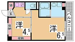 鵯越駅 2.5万円
