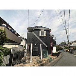 埼玉県草加市青柳町の賃貸アパートの外観