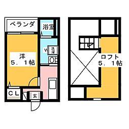 一番2丁目III(仮称)[2階]の間取り