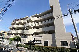 東京都足立区梅田6の賃貸マンションの外観