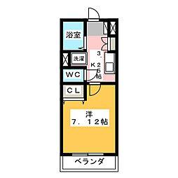 フローラル321[1階]の間取り