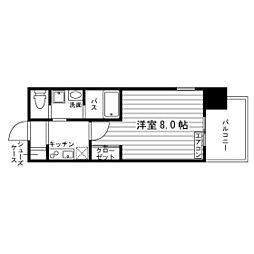 アヴァンコンティア小幡[11階]の間取り