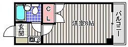 神藤レジデンス[2階]の間取り