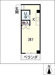グレイス小賀須[7階]の間取り