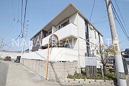 徳島県徳島市八万町法花谷の賃貸アパートの外観
