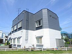 北海道札幌市北区篠路七条6丁目の賃貸アパートの外観
