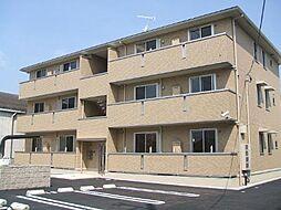 メゾンソレイユ B棟[3階]の外観