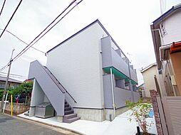 東京都西東京市中町2丁目の賃貸アパートの外観