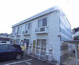 京都府八幡市橋本西刈又の賃貸アパートの外観