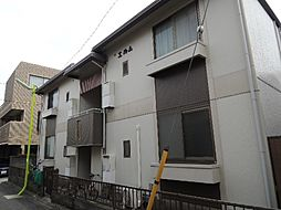 東京都世田谷区用賀3丁目の賃貸アパートの外観
