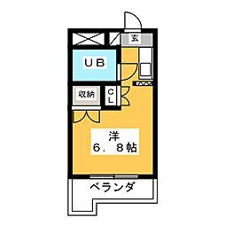 メゾン・ド・エルヴェ[4階]の間取り