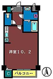 HAKUSAN HILLS[202号室]の間取り