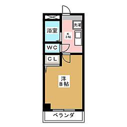 コーポクローバー[2階]の間取り