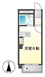 ラディアント鶴舞[5階]の間取り
