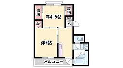 粟生駅 2.5万円