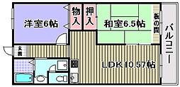 ドルチェ2[108号室]の間取り