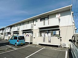 千葉県松戸市新松戸6の賃貸アパートの外観